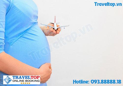 quy định phụ nữ mang thai đi máy bay vietnam airlines