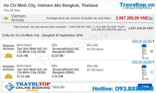 Kinh nghiệm mua vé máy bay đi Thái Lan