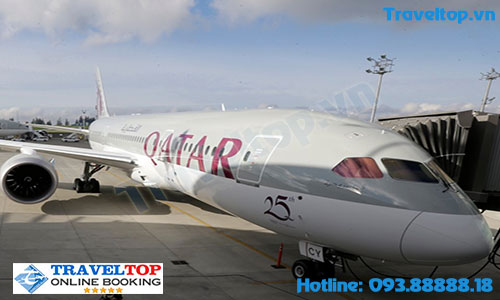 Hãng hàng không Qatar Airways của nước nào