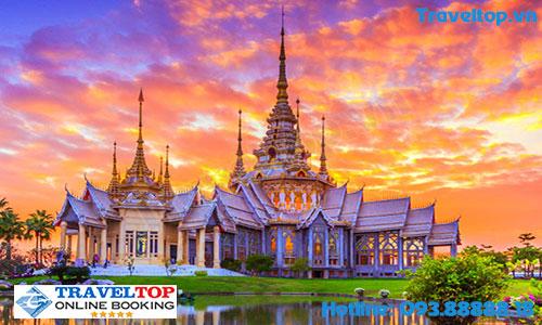 Đi Thái Lan nên đi máy bay hãng nào