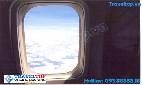 Làm sao để ngồi gần cửa sổ máy bay