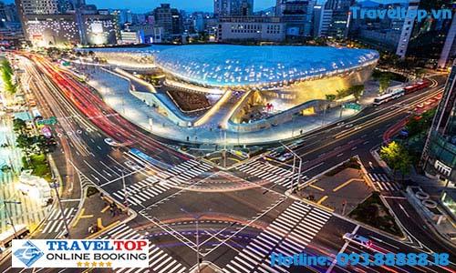 trung tâm thương mại Dongdaemun
