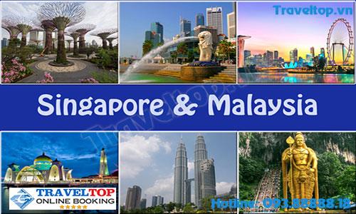 du lịch tự túc giá rẻ Singapore - Malaysia