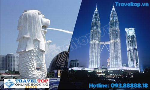 du lịch tự túc Singapore - Malaysia